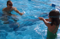 Younger Children Swimming